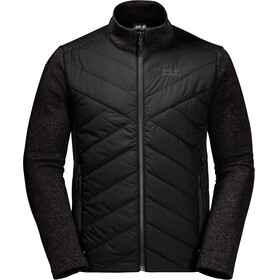 Jack Wolfskin Caribou Crossing Track Jacket Men black